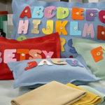 ABC Felt Pillow