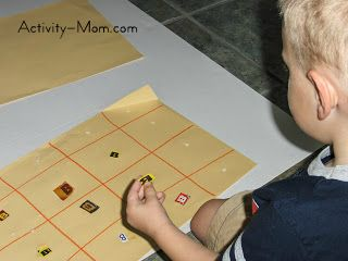 Letter Grid Activity