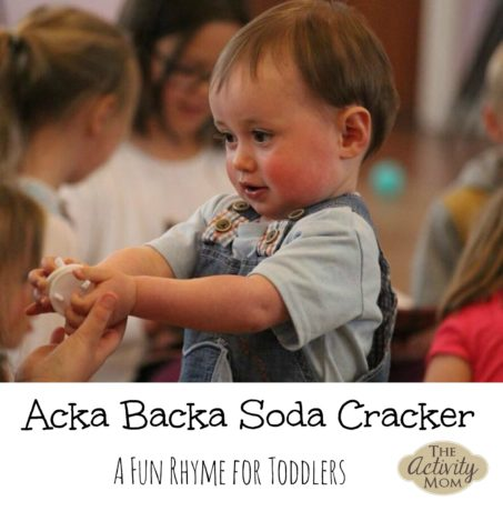 Acka Backa Soda Cracker Rhyme