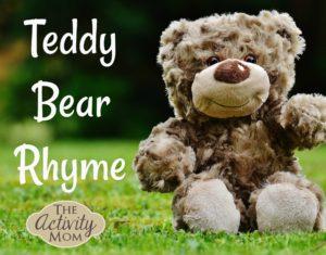 Teddy Bear Rhyme