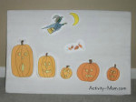 5 Little Pumpkins – Felt Board Activity