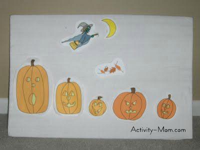 Pumpkin Rhyme for Preschoolers