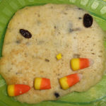 Muffin Tin Monday – Pancake Pumpkin Faces