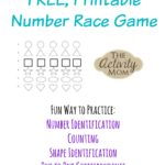Printable Number Race