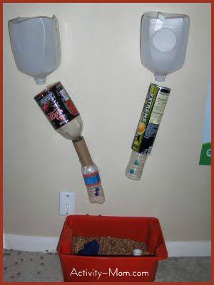 Bean Funnel and Sensory Box