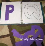 Printable Build a Letter Puzzles