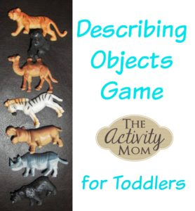 Describing Objects Game for Toddlers