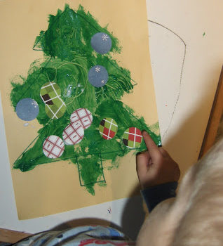 Simple Christmas Tree Craft