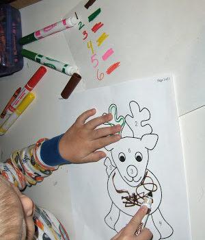 Reindeer Dice Game