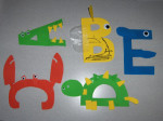 Awesome Letter Crafts!