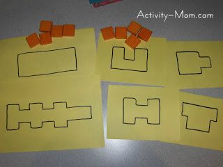 Squares in a Shape
