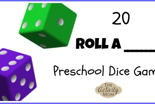 Preschool Dice Games