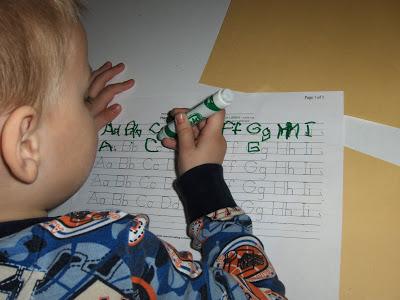 Handwriting Printable