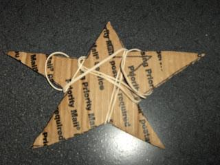 Cardboard Shape & Rubber Bands