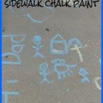 Sidewalk Chalk Paint – Make Your Own