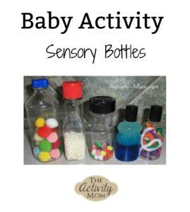 baby activity sensory bottles
