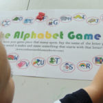 Alphabet Board Game (Printable)