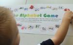 Alphabet Board Game (Printable)