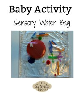baby activity sensory water bag