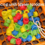 Lacing with Water Noodles