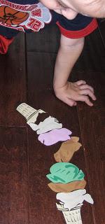 Ice Cream Scoop Game