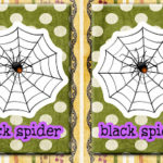 Halloween Memory/Matching (printable)