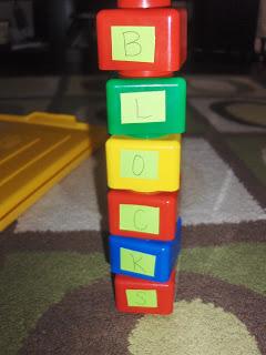 Letter Blocks and Word Blocks