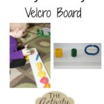 Baby Activity – Velcro Board