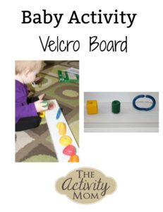 Baby Activity Velcro Board
