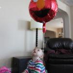 Baby Activity – Fun with a Balloon