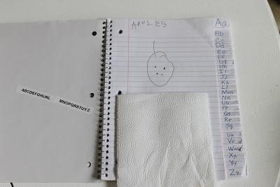 Alphabet Dictionary (make your own)