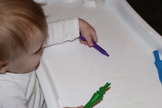 Baby Activity – Coloring for the First Time