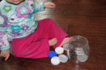 Baby Activity – Lids and a Container