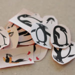 DIY Lick and Stick Stickers