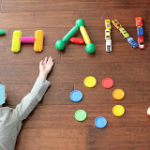 Thank You Notes and Spelling with Toys