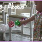 Baby Activity – Baby Abacus (diy)