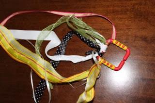 Baby Activity – Ribbon Kite