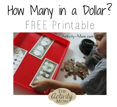 How Many in a Dollar? FREE Printable