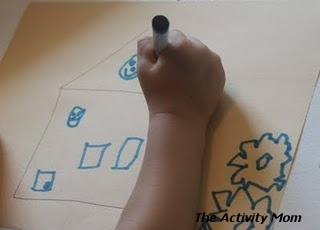 Number Drawing and Simon Says Drawing