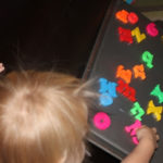 Toddler Activity – Exploring Letters