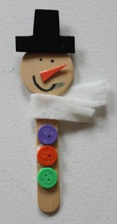 Snowman Ornament Craft