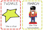 Christmas Action Cards (printable)