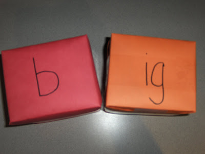 Making Words with Big Dice