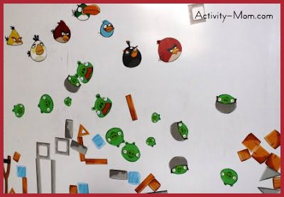 Angry Birds Magnets (printable)
