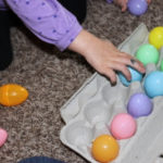 Easter Egg Activities – Toddler Color Matching