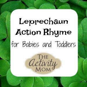 Leprechaun Action Rhyme