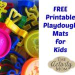 Printable Playdough Mats for Every Season