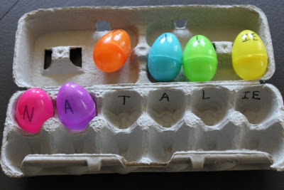 Easter Egg Activities – Spell Your Name
