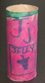 Toilet Paper Tube Crafts – J is for Jelly Jar