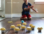 Toilet Paper Roll Craft – Bowling